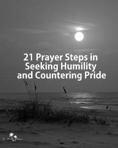 prayer steps seeking humility