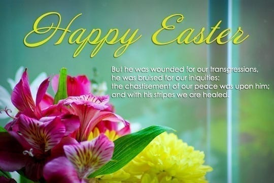 Easter Prayer and Easter Bible Verses
