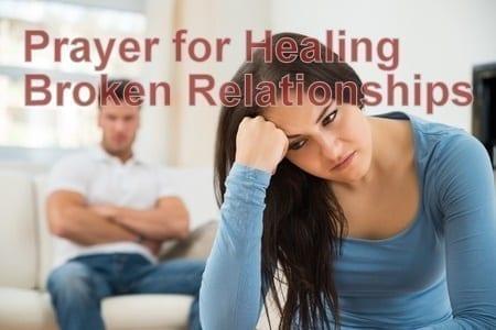 Prayer for Healing Broken Relationships -