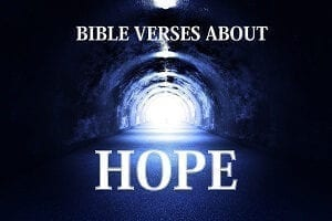Bible Verses About Hope -