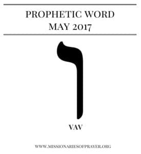prophetic word may 2017
